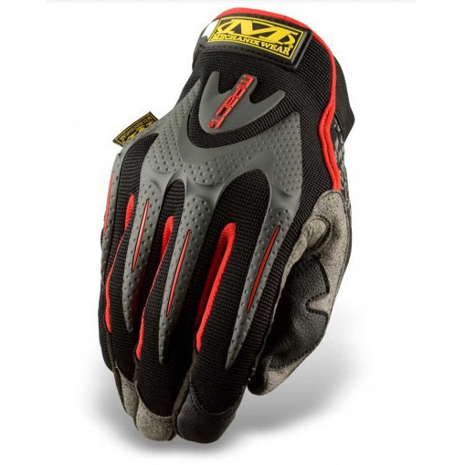 MW Mpact Glove Black Red